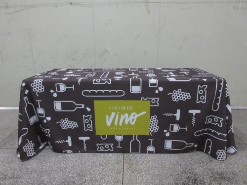 Custom Tablecloth with Logo