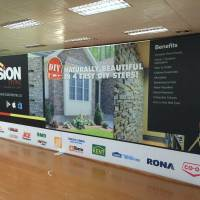 8x20 Straight Tension Fabric Display
