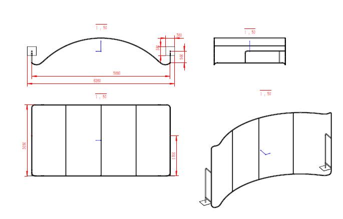 tradeshow Display diagram