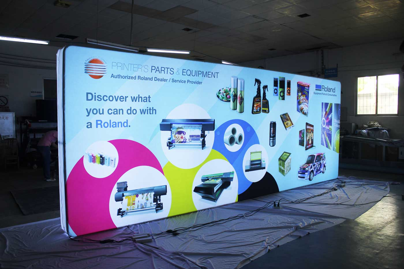 LED Lightbox For Tradeshows