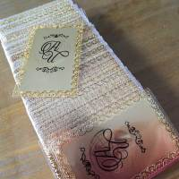 Frosted Gold Cards