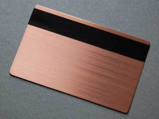Metal-Rose-Gold-Card