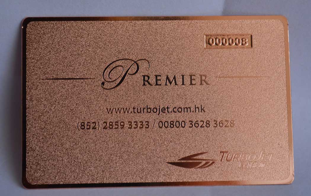 Rose gold metal business cards free shipping usa canada europe pink metal business cards reheart Image collections