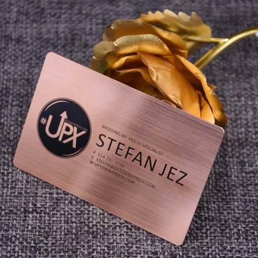 Rose-Gold-Brushed-Business-Card
