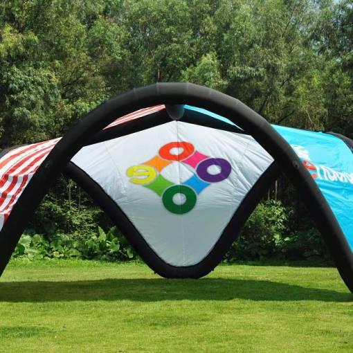 Custom-printed-inflatable-v-tents