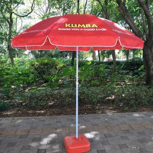 Custom Patio Umbrella with Water Base