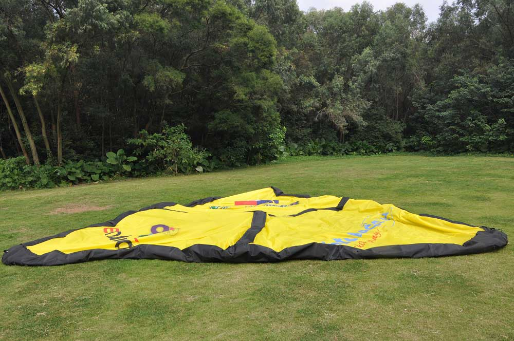 Inflatable Tent - deflated