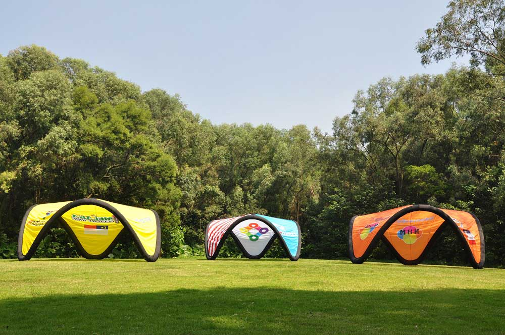 Inflatable V Tent & Inflatable V Tent for Events Activations and more - Free Shipping ...