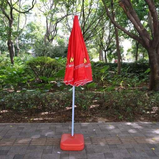 Umbrella-down-position