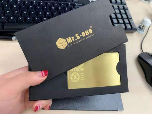 Gift Card Envelopes with Foil Stamp
