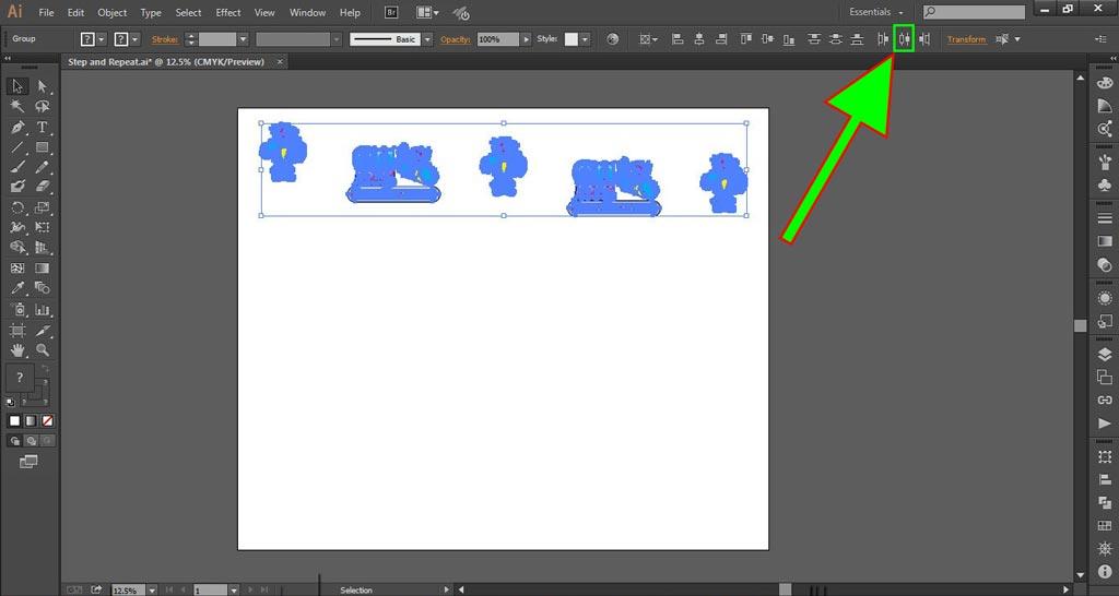 Logo Wall Instructions Illustrator Step 4-b