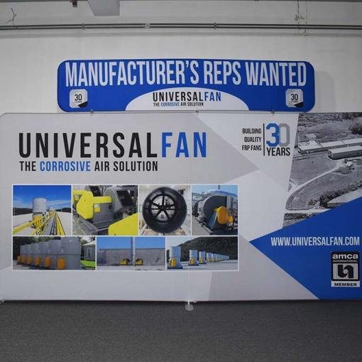 15 foot Tradeshow Display