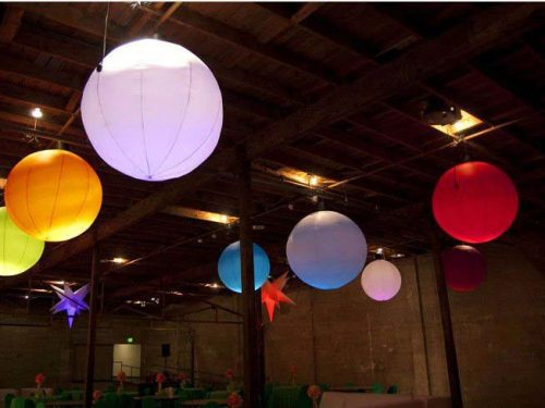 LED Hanging Balloons