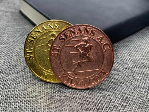 Antique Copper and Gold Finish Coins