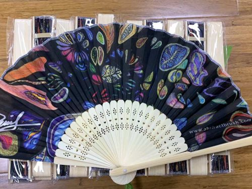 Poly Silk Hand Fans