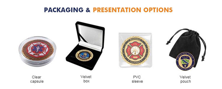 Packaging for Coins