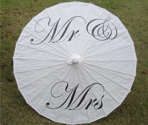 Wedding Paper Umbrellas