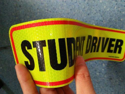 Reflective Bumper Stickers