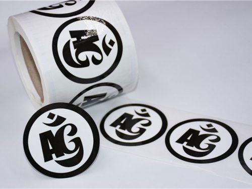 Average Gypsy Stickers on a Roll