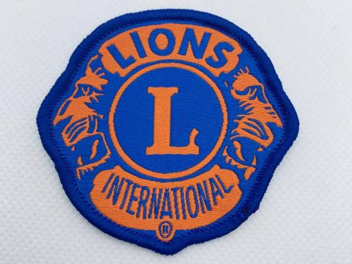 Woven Patch for Lions Club