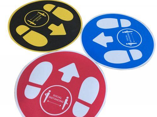 Foot Print Floor Stickers