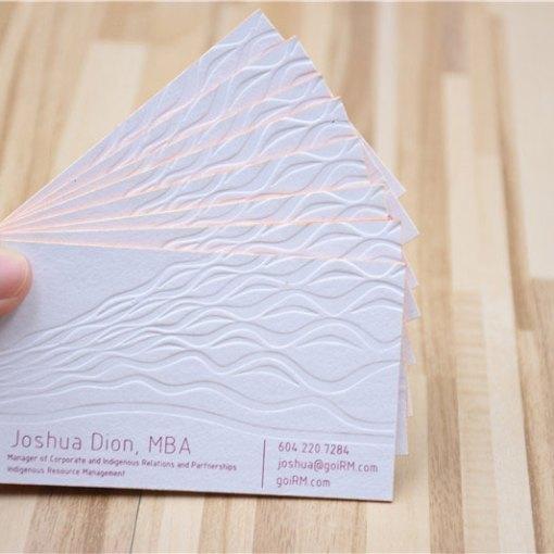 Blind-Debossed-Cards