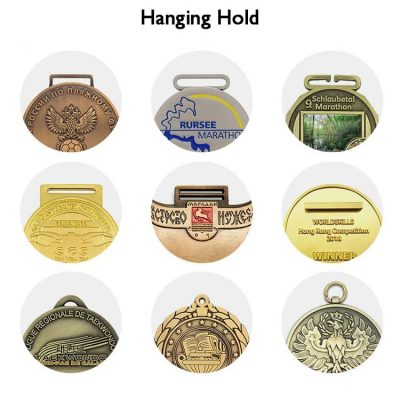 How to hang a medal on a lanyard