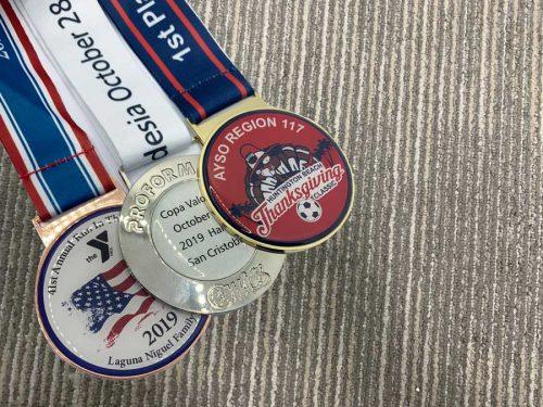 Colour Medallion with Epoxy Finish