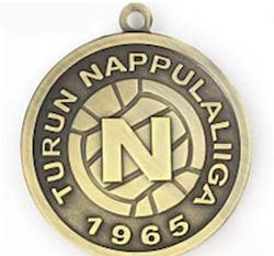 Stamped Award Medal