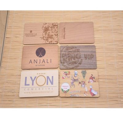 Wooden-Card-Printing