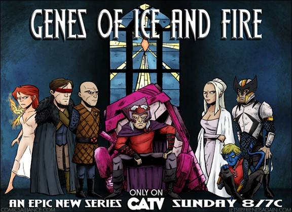 X-Game of Thrones, Genes of Ice and Fire