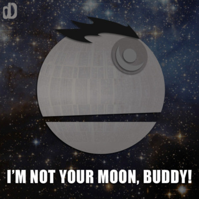 That's no moon.