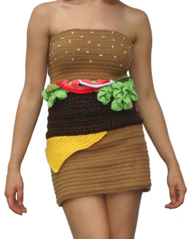 Hamburger Dress