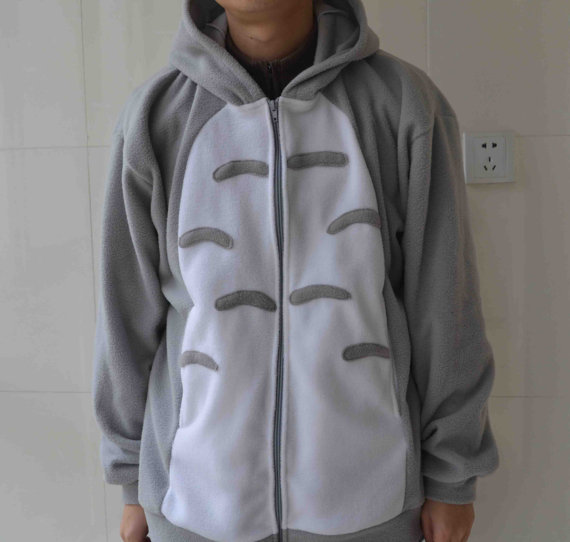 Totoro Costume Hoodies My Neighbor  Anime spring  sweater Hoodies Cosplay