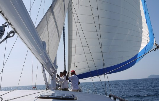 Segeln im Mergui-Archipel