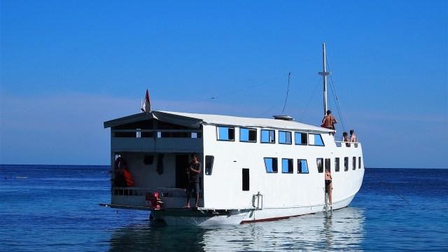 Unser Boot und Zuhause für die nächsten vier Tage