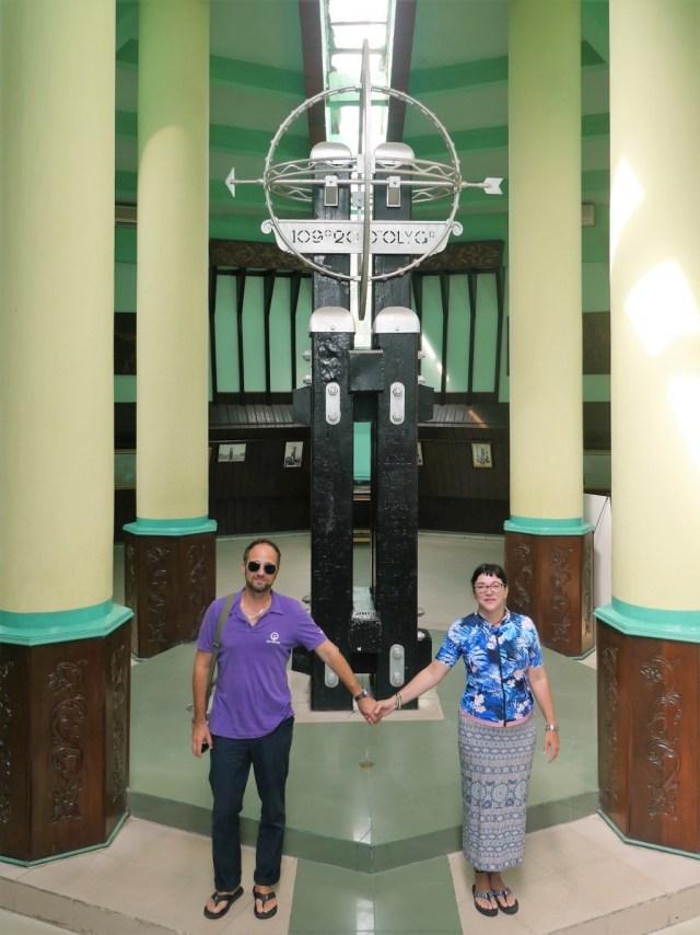Äquatordenkmal in Pontianakk