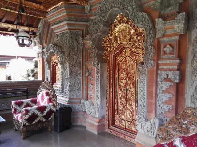 Unser kleiner Palast in Ubud