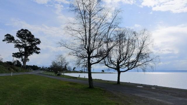 Rastplatz am Taupo-See