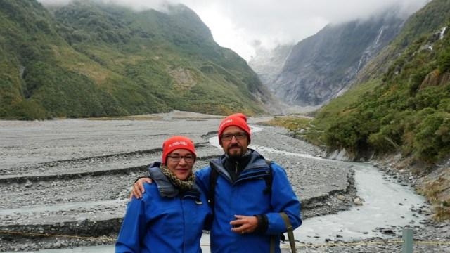 Gletscher in Neuseeland: Vor dem Franz-Josef-Gletscher