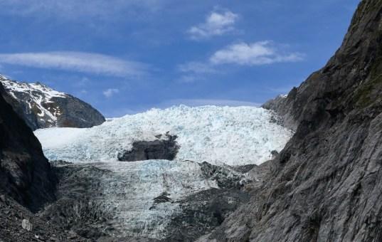 Die Gletscher in Neuseeland