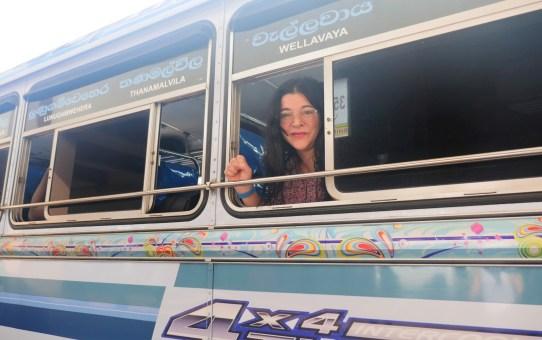 Mit Buss und Bahn durch Sri Lanka