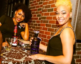 Amai waitresses with Ultimat Vodka