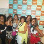 Andrea Kelly, Kijafa Frink, Trina Braxton, Jamie Foster Brown, Towanda Braxton, and Meeka Claxton posing for the camera