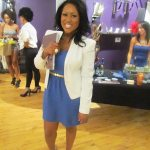Janelle Langford of Urban Suite PR putting on a fab event like only she can