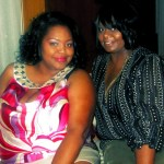 Nikka Shae with Dr Diva Reginia Park from Her Perfect Black Dress
