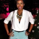Fashion editor McKenzie Harris of Rolling Out Magazine