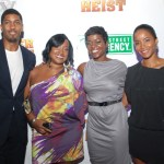 Fonzworth Bentley, Shante Bacon and Saptosa Foster of 135th Street Agency, and Faune Watkins