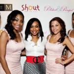 Monica Diggs with the lovely Qream Girls
