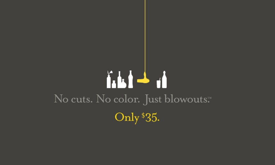 Drybar. No cuts. No color. Just-blowouts. Only $35